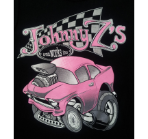 Pink Chev Kids Short Sleeve T